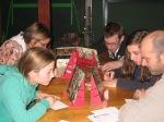 Soirée de jeux à la salle Saint-Eloi à Becco en 2011