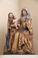 "Sainte Anne ""trinitaire"" : sainte Anne, la Vierge Marie, Jésus"