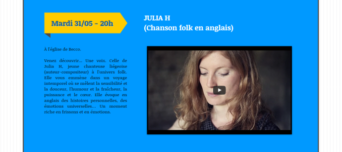 2016-05-31 - Concert Julie H