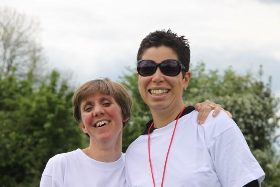 Anne-Françoise et Patricia