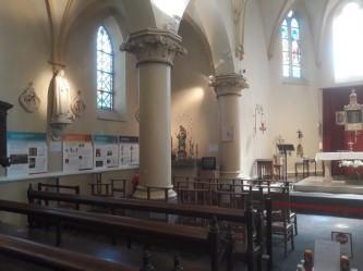 2021-06-06 - Exposition CIPAR dans l'église de Becco