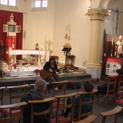 2021-06-06 - Concert Voix et cuivres dans l'église de Becco